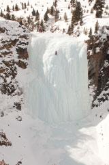 Мал и ничтожен человек на ступенях Шумакского ледопада