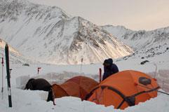 Лагерь под Усть-Илимцев