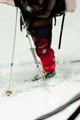 Вода под коркой льда
